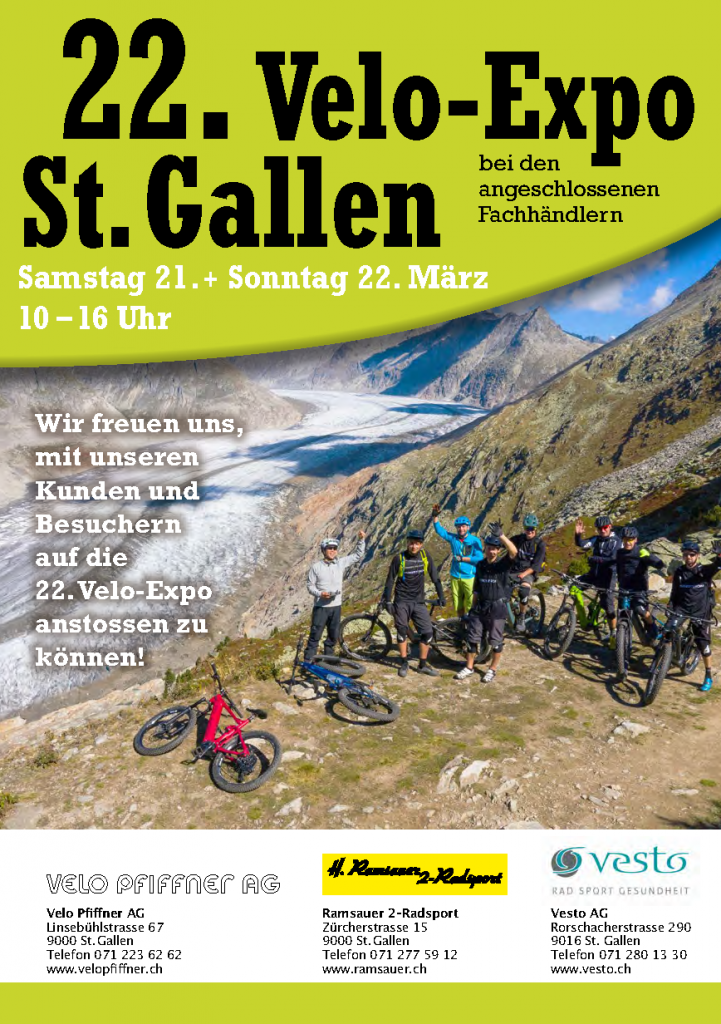 22. Velo-Expo St. Gallen